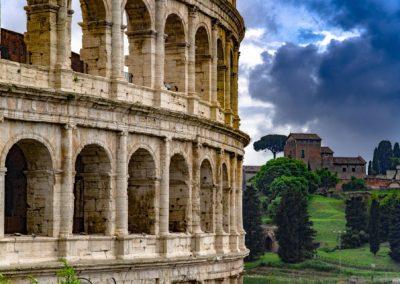 Roman Colosseum (also Flavian Amphitheatre)