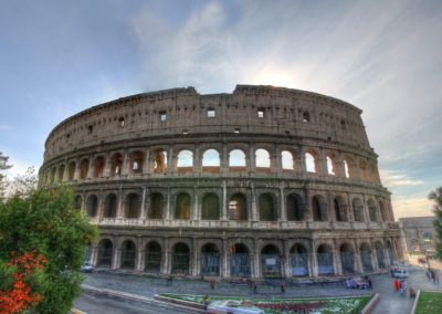 Roman Colosseum (also known as Flavian Amphitheatre)