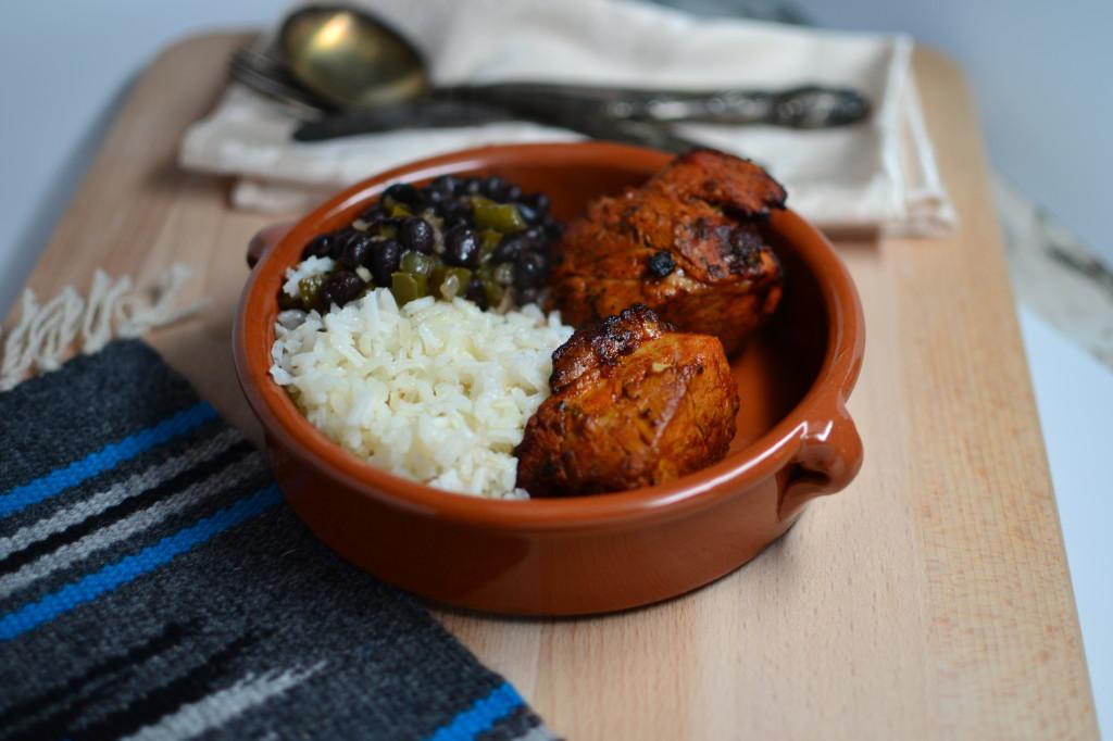 Chile Marinated Pork Loin