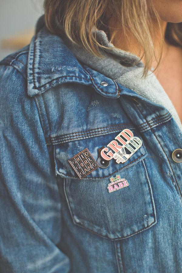 Enamel Pins by Amber Witzke