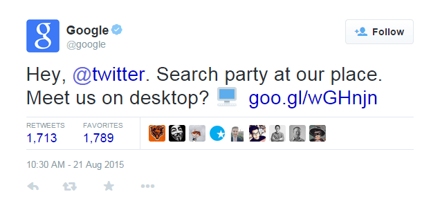 twitter search results