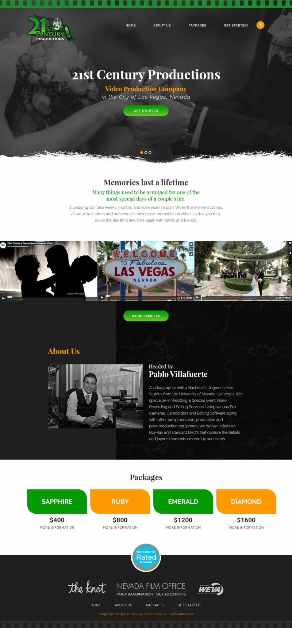 Website Design Portfolio On The Maps Digital Marketing Company