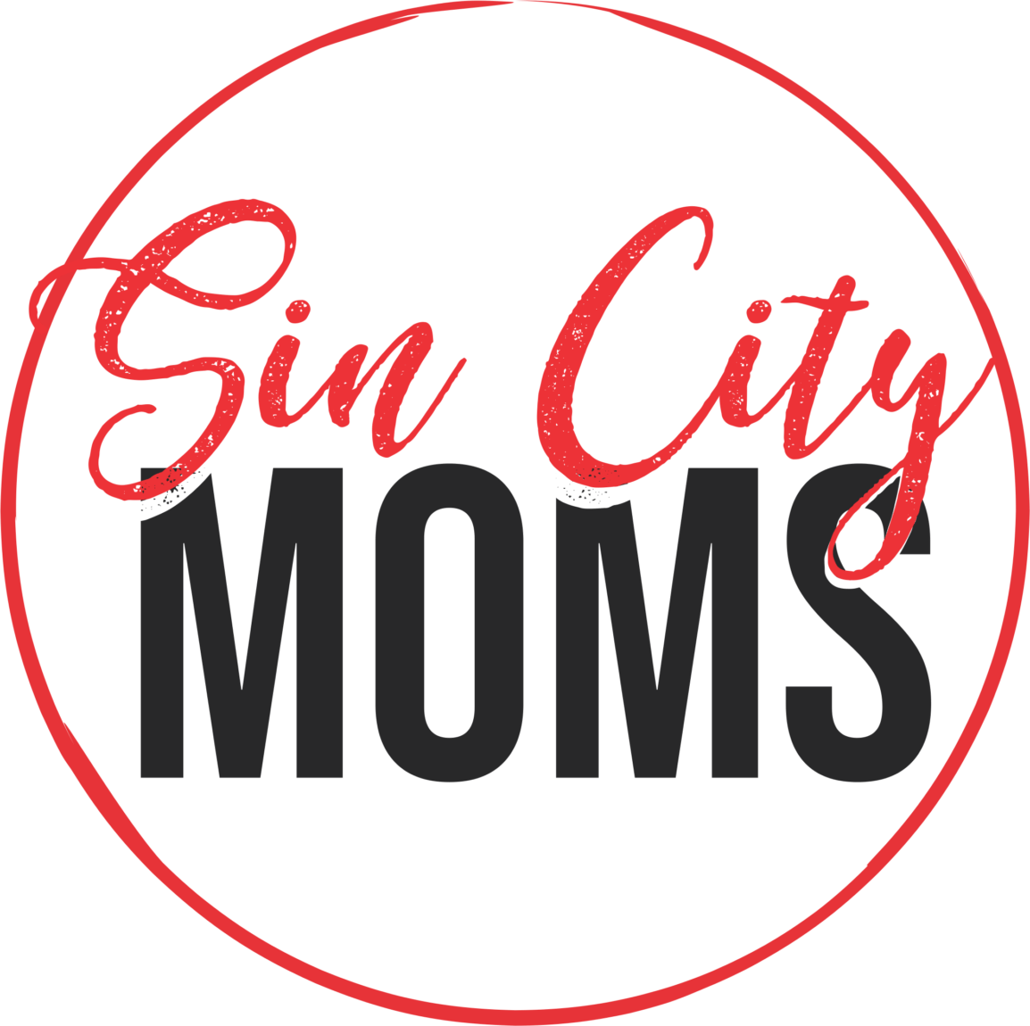 sin city moms logo
