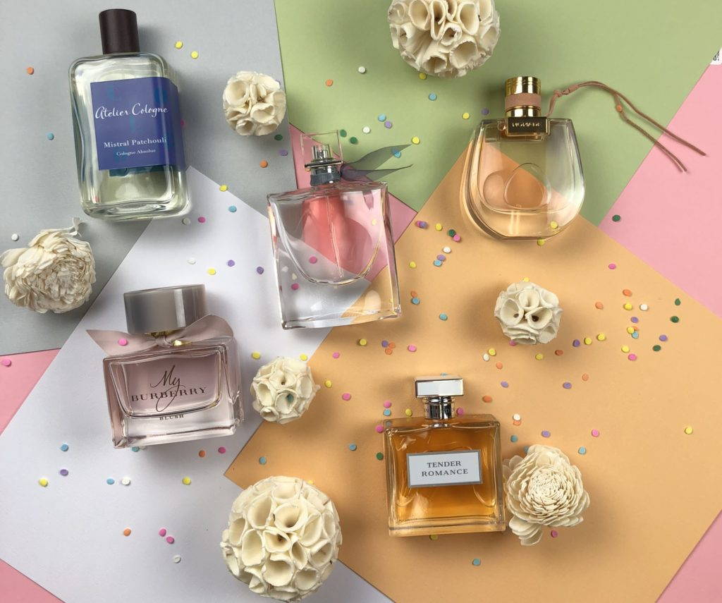 top 5 spring perfumes for women