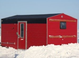 Ice Fishing Houses in Minnesota
