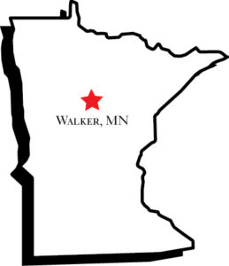 Walker, MN nearest town to Adventure North Resort