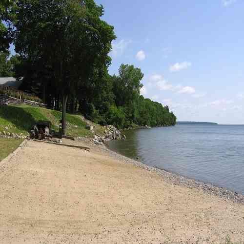 Sandy Beach Leech Lake MN Minnesota Resorts
