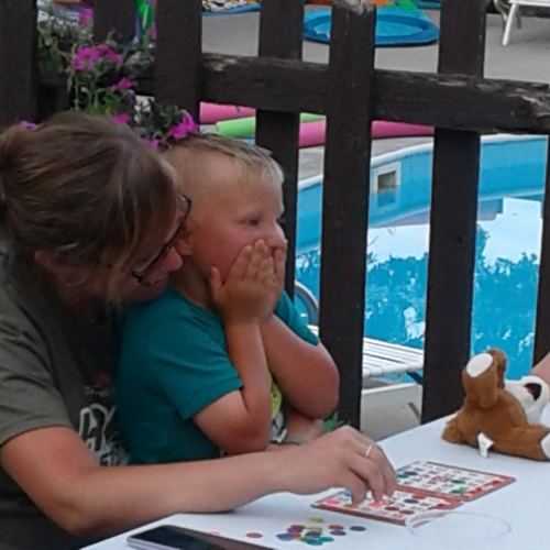 At Adventure North Resort on Leech Lake, we offer plenty of family-friendly activities such as bingo!
