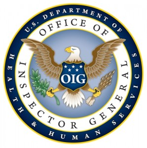 OFFICE OF INSPECTOR GENERAL DEPARTMENT OF HEALTH AND HUMAN SERVICES SEAL