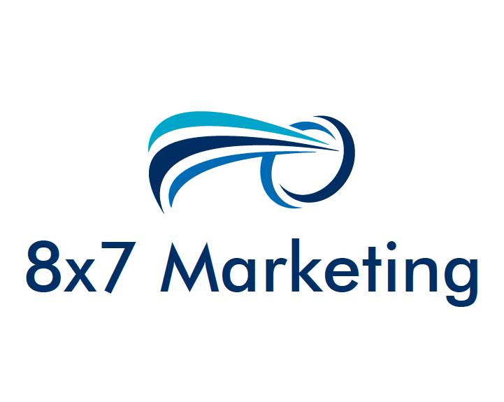 8×7 Marketing Logo