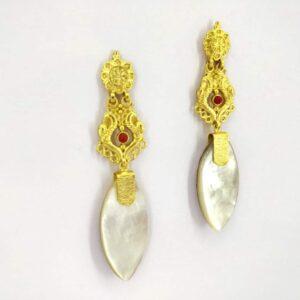 Harappan Long Dangling Earrings