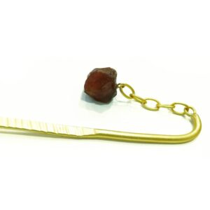 Brown Dangling Hair Pin