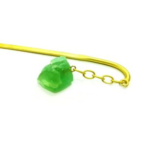 Green Dangling Hair Pin