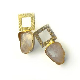 Pastel Rocks Stud Earrings