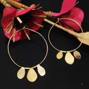 Cosmopolitan Hoops with Mirror Finish