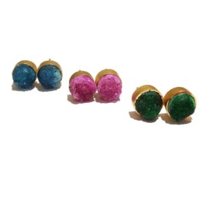 Sugar Crush Daily Fashion Stud Earrings (Set of 3)