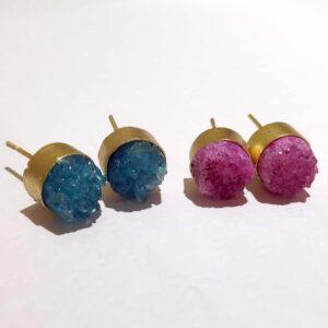 Sugar Crush Daily Fashion Stud Earrings (Set of 2)