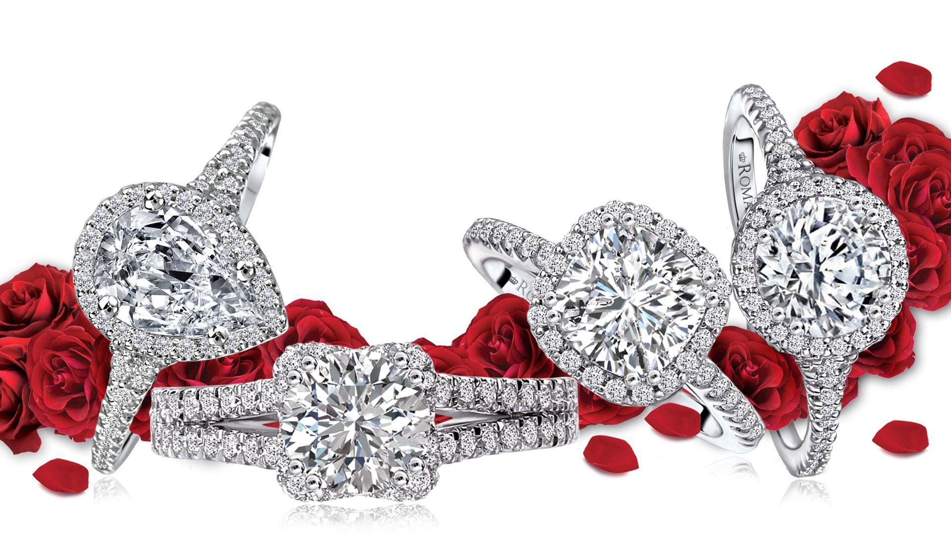 romance diamond bridal collection
