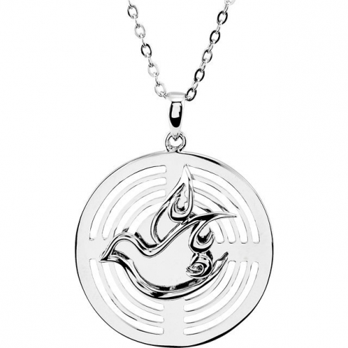 Confirmation Sponsor Necklace In Sterling Silver