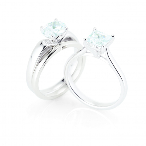 4-Prong Solitaire Engagement Ring Series: 122005