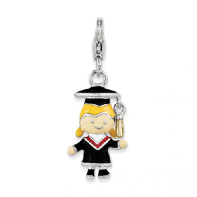 Girls Graduation Charm