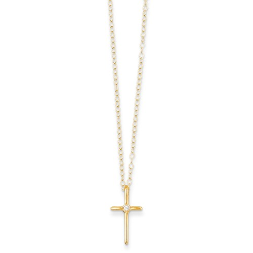 gold-cross-necklace