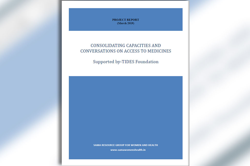 Cover of research study on access to medicines