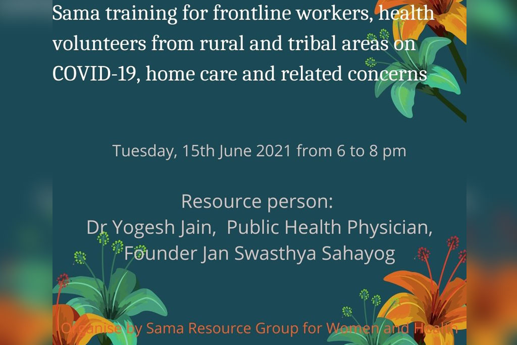 Training on Covid-19 Home care and related concerns