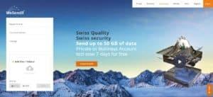 Swiss File Transfer Service