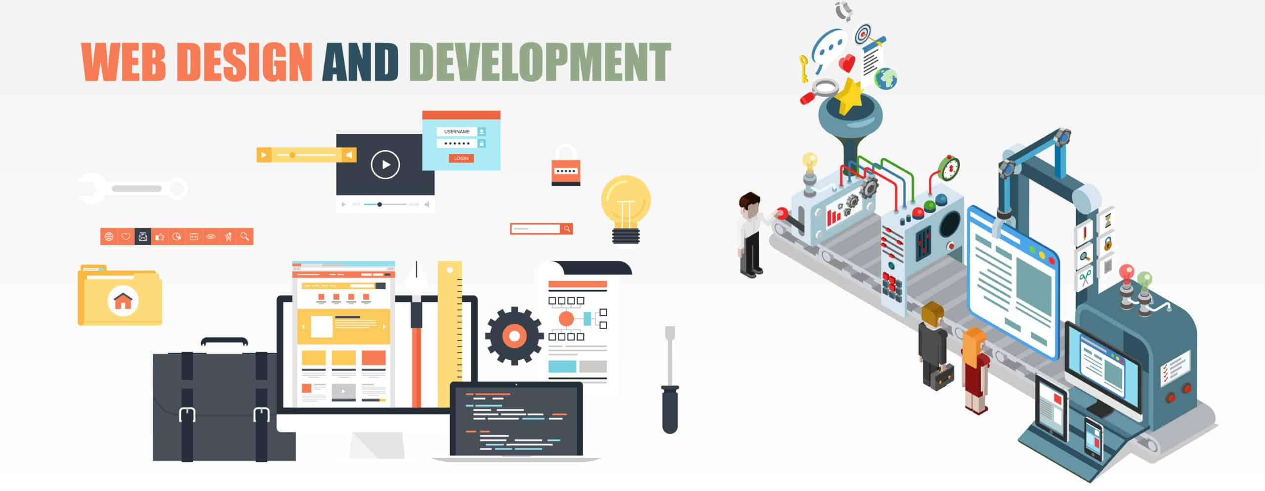 Web Design and Development Service=