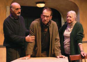 Scene from the play Exit Strategy at the Falcon (Garry Marshall) Theatre in Los Angeles