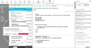 Intelligent Emails With Legal Practice Management