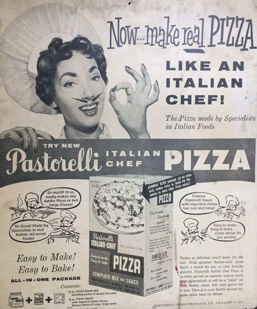 Pastorelli Pizza Kit Ad