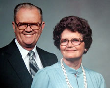 Lina Mae Ferrell Edwards and William Levi