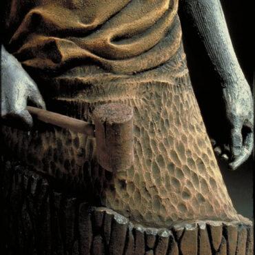"""""""Carving Man"""" • detail"""