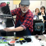artist, master print maker, educator, Bruce Waldman