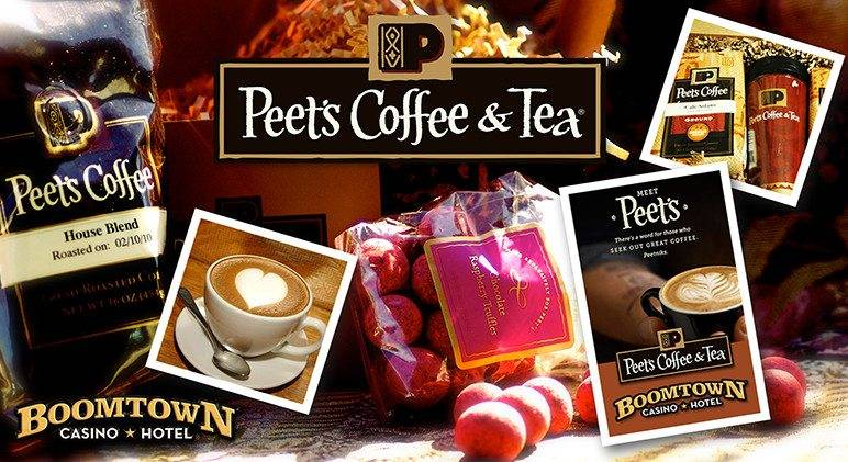 Boomtown Casino Hotel Peets Coffee