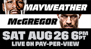 Mayweather McGregor Fight Boomtown