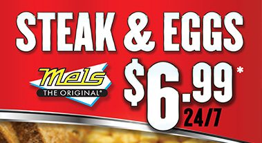 Mels Steak and Eggs Special