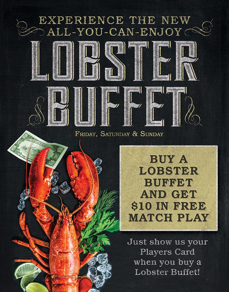 Lobster Buffet Match Play