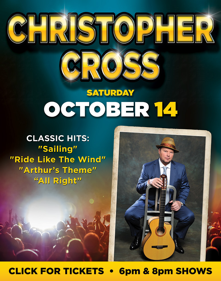 Christopher Cross at Boomtown Casino Hotel