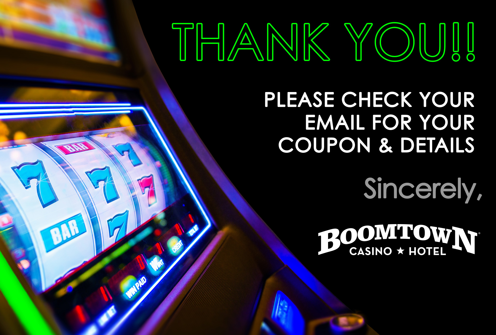 Boomtown-Free-Play-Promo-Offer-Thankyou