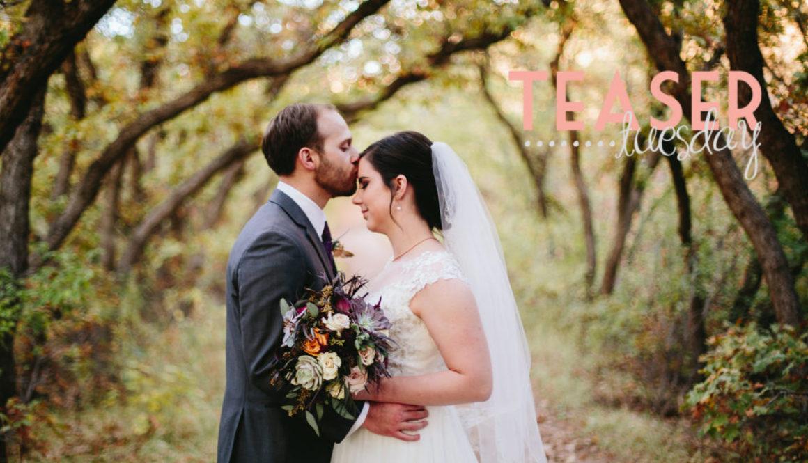 kelsey + eric wedding teaser highlight video cover