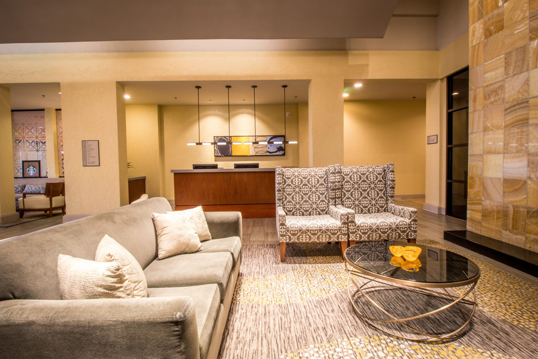 real estate interior Hilton hotel salt lake city Ryan hender photography