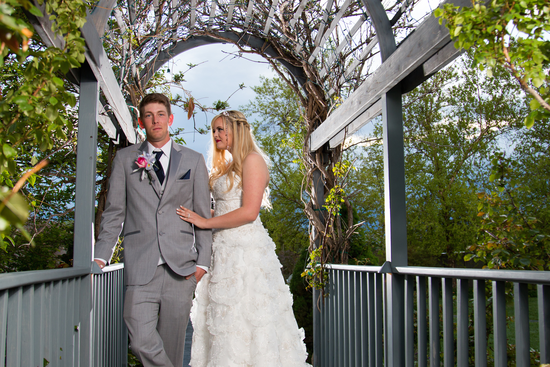 Milennial falls wedding photography sandy utah