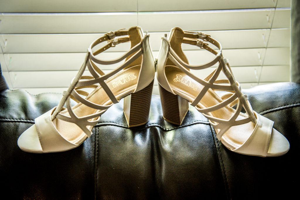bride's shoes Ryan hender photography le garden wedding venue sandy utah
