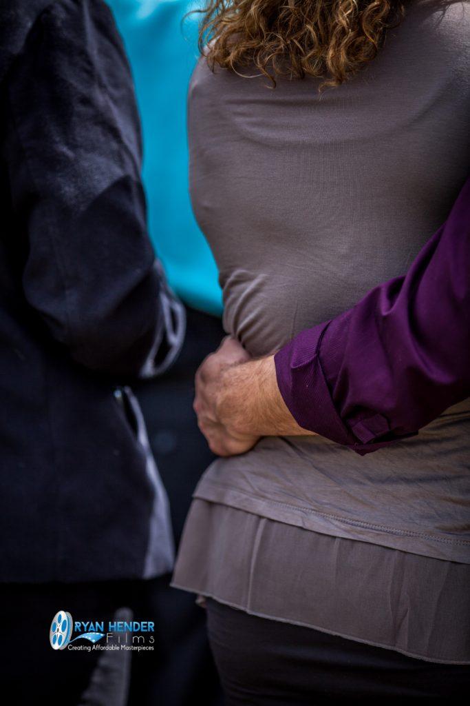 holding hands funeral photography utah Ryan hender films