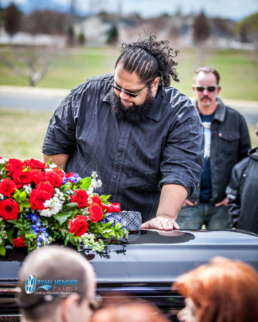 best friend funeral photography utah Ryan hender films