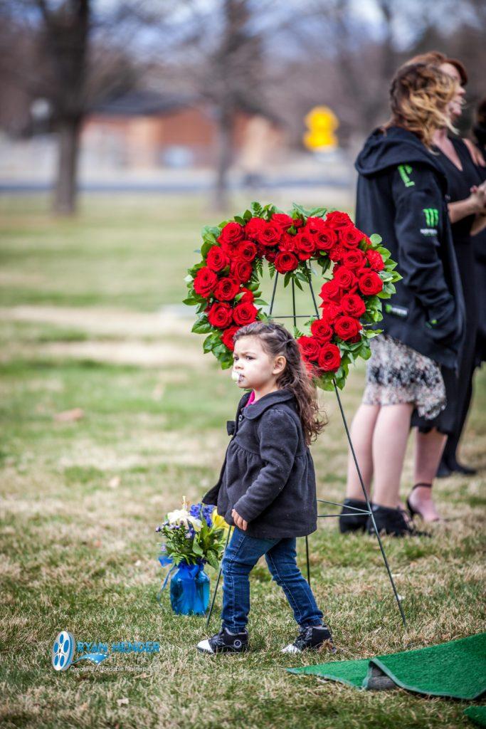 flowers funeral photography utah Ryan hender films