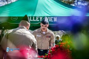 military honors casket funeral service salt lake city utah Ryan hender photography